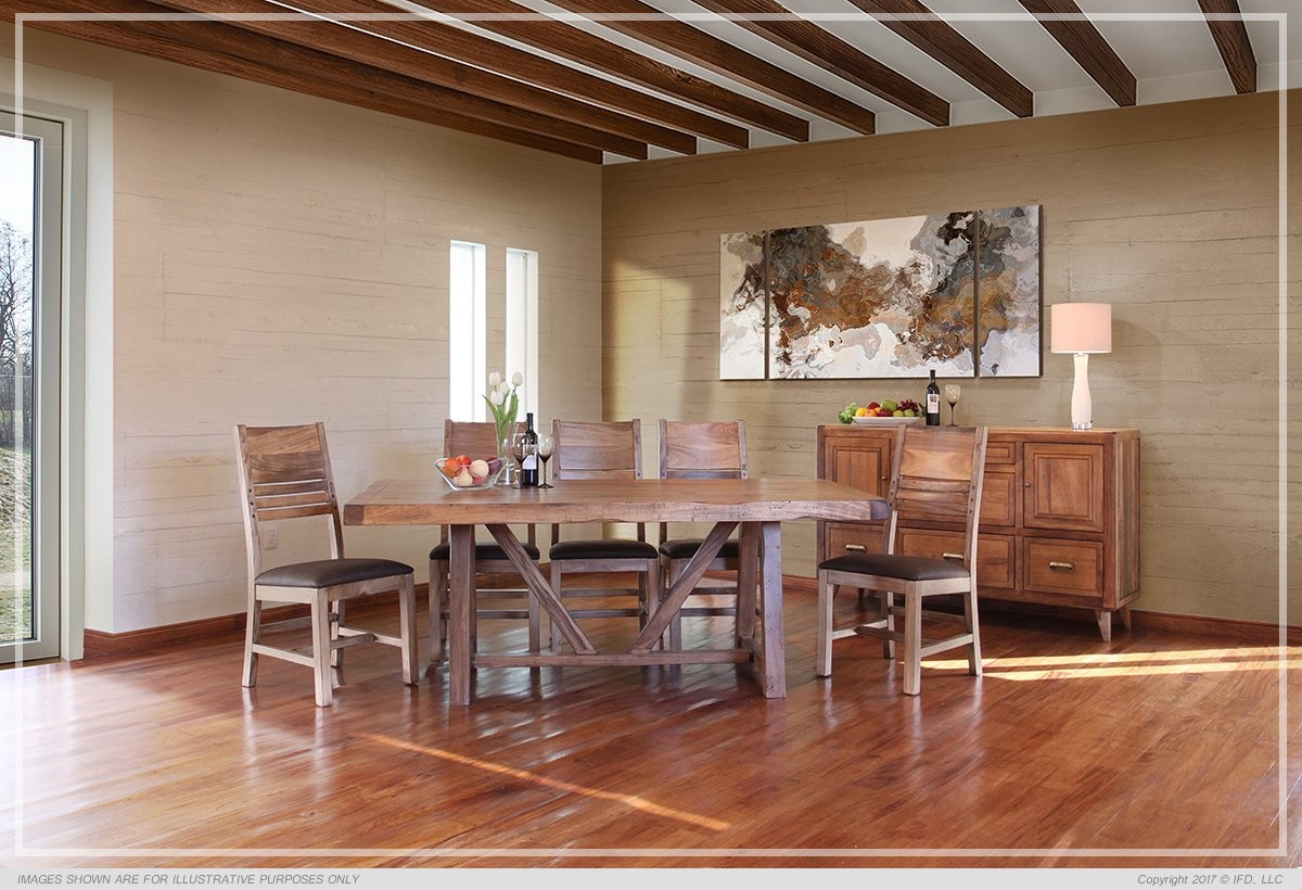 Ifd Dining Habillo All Wood Furniture
