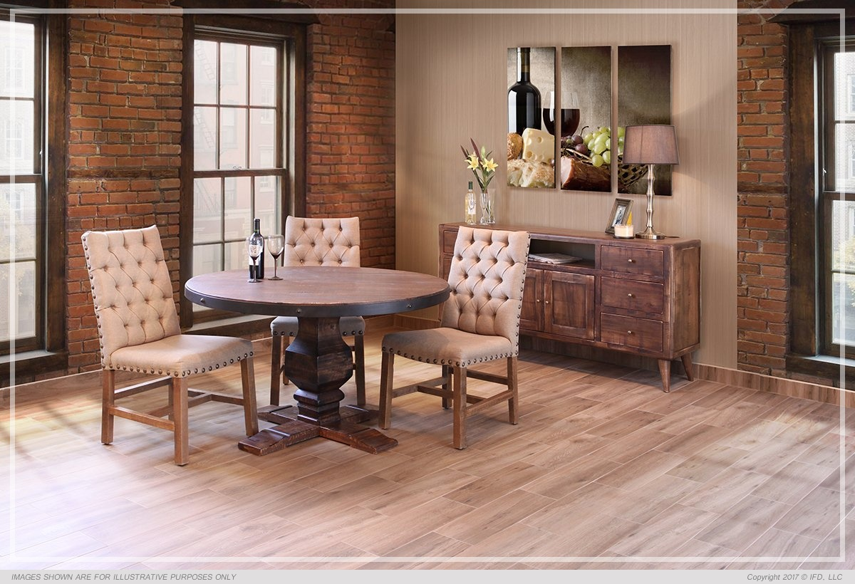 Ifd Dining Pueblo All Wood Furniture