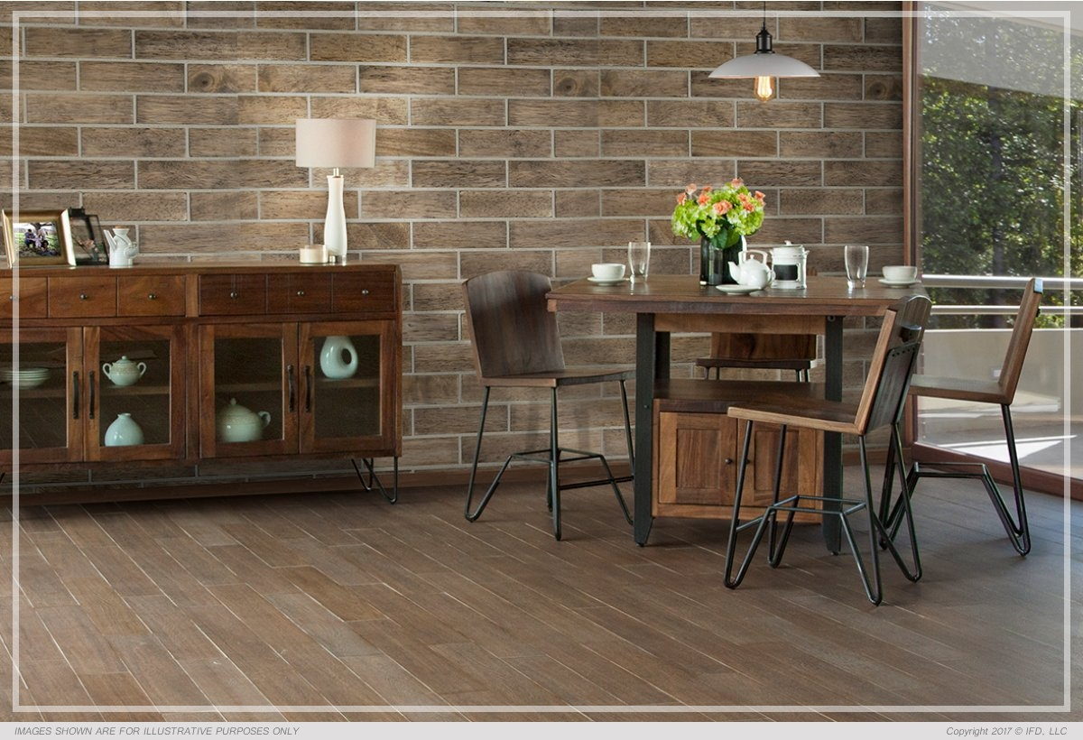 Ifd Dining Taos Counter All Wood Furniture