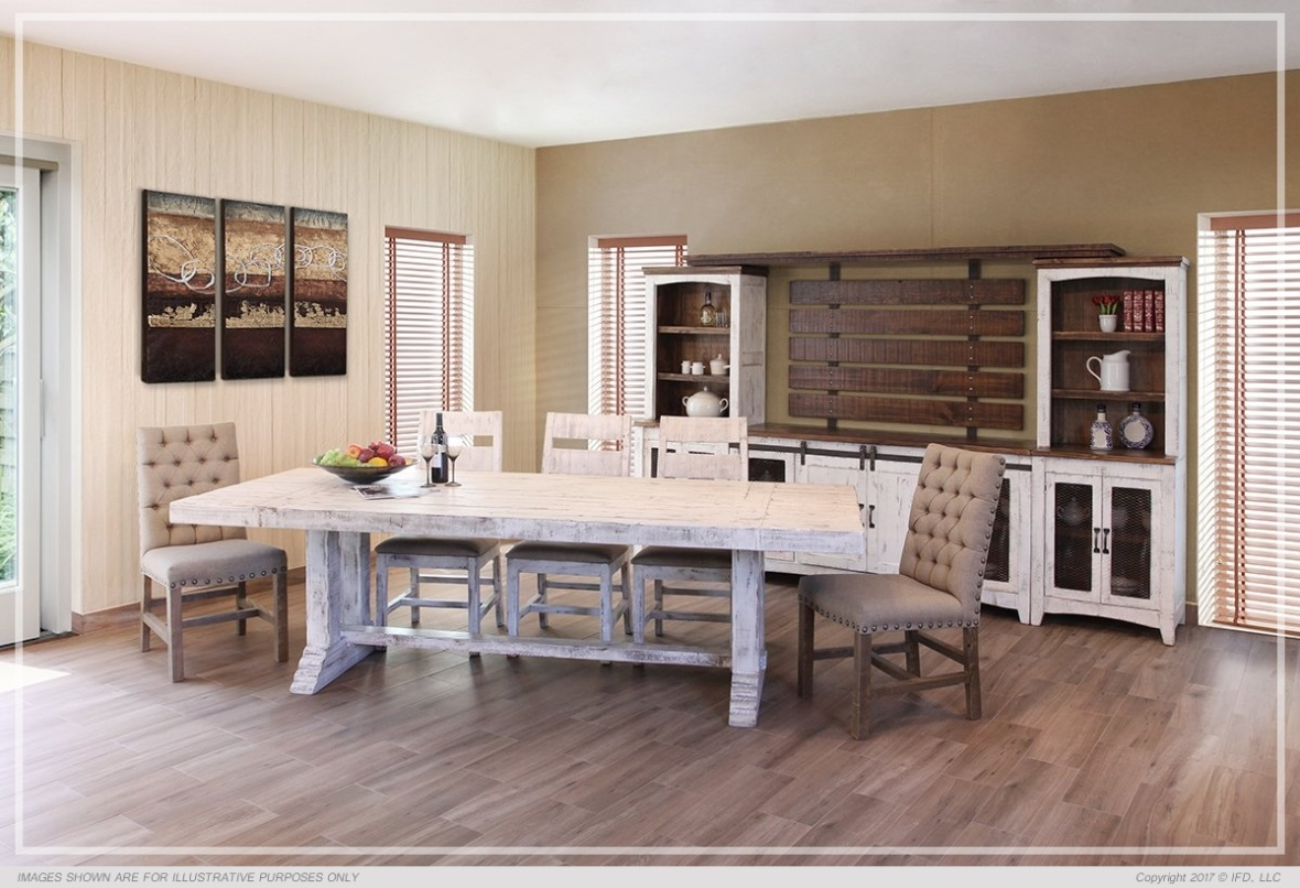 Ifd Dining Terra White 2 All Wood Furniture