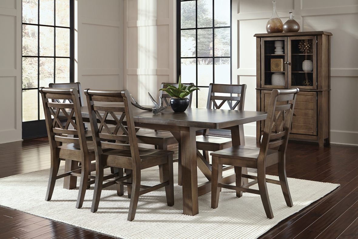 Jt Dining Canyon Graphite All Wood Furniture