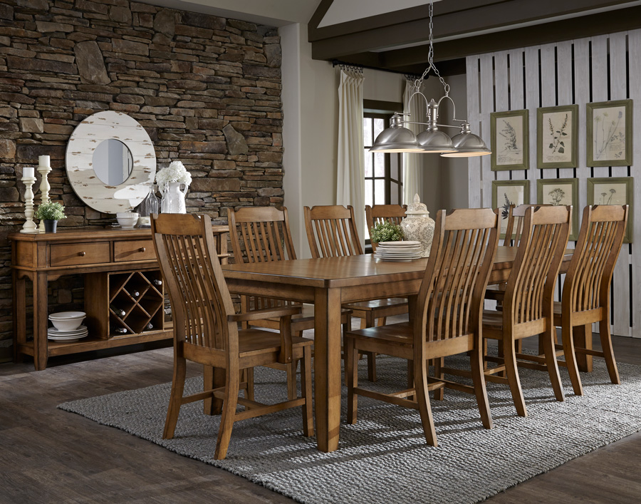 Jt Dining Canyon Leg All Wood Furniture