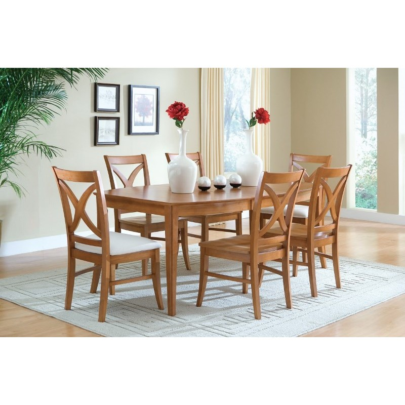 Jt Dining Cosmo Leg Table 2 All Wood Furniture