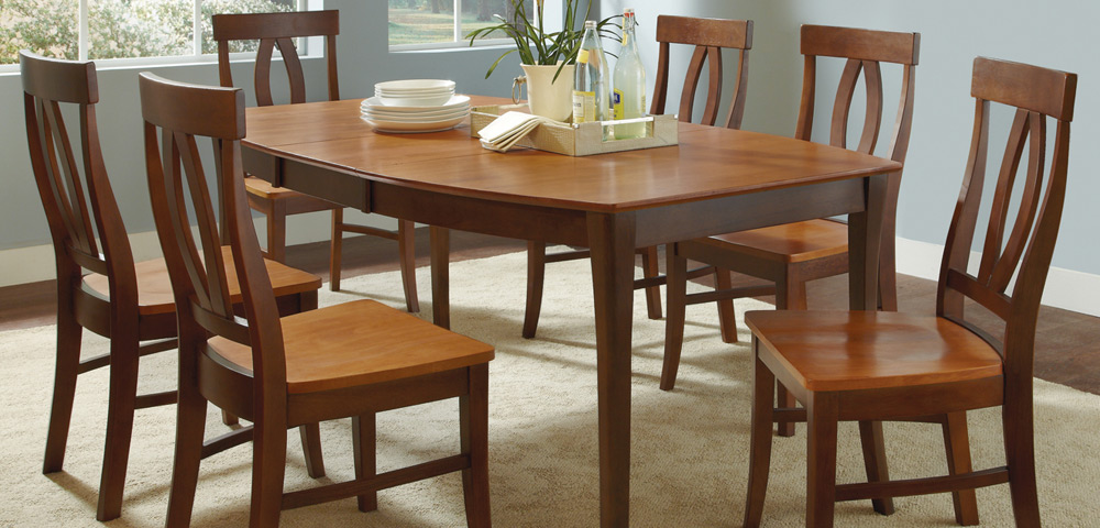 Jt Dining Cosmo Leg Table All Wood Furniture