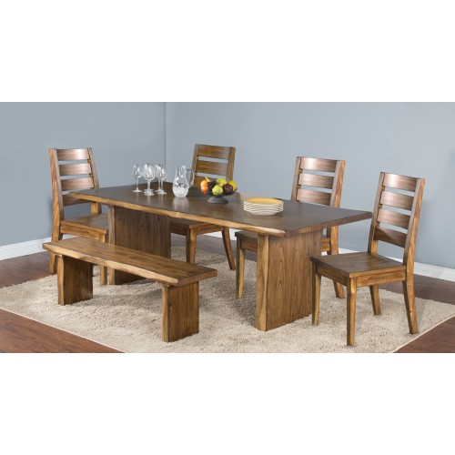 Sd Dining Carey Live Edge All Wood Furniture