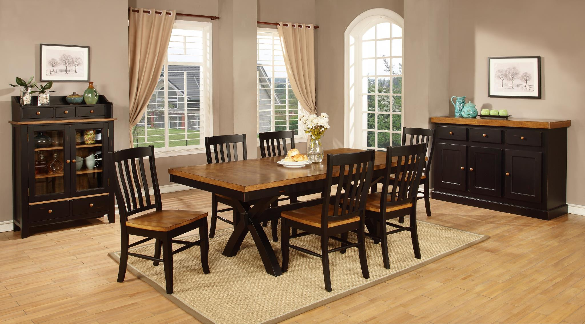 Tei Dining Quinton 2 All Wood Furniture