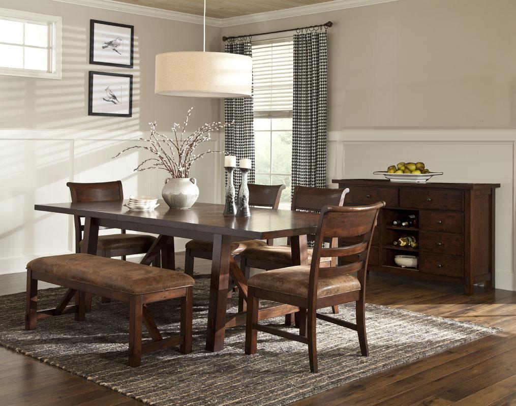 Tei Dining Rustic Heirloom All Wood Furniture