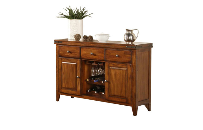 Wo Dining Mango Server All Wood Furniture