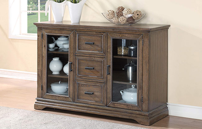 Wo Dining Xcaibur Server G All Wood Furniture