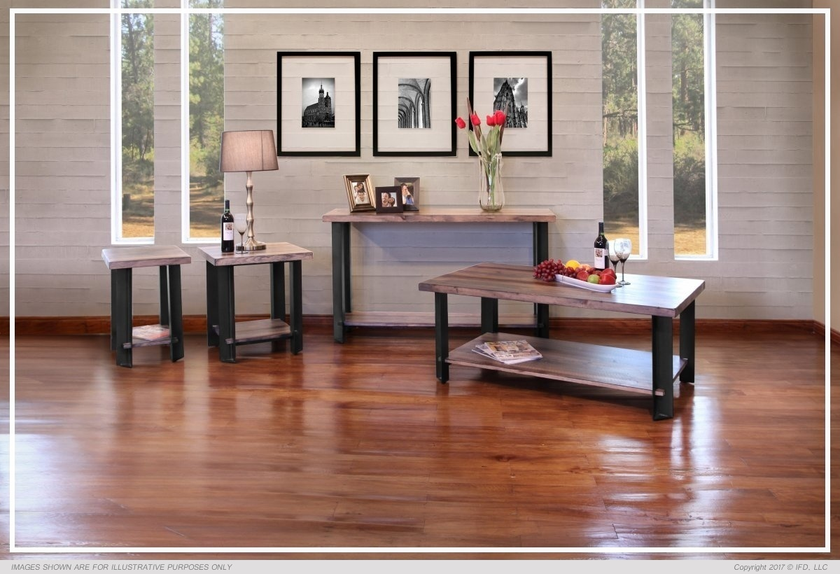 Ifd Occasional Edge All Wood Furniture